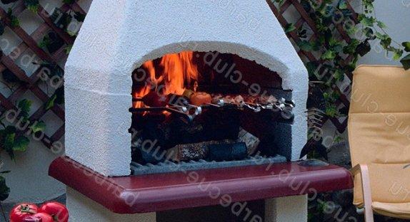 Готовые печи барбекю