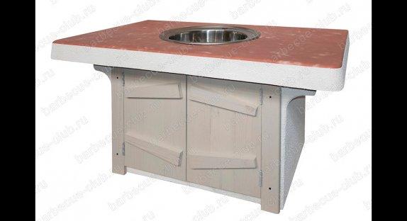 Дополнительные столы под печи барбекю