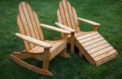 Садовые кресла Адирондак с функцией кресла-качалки