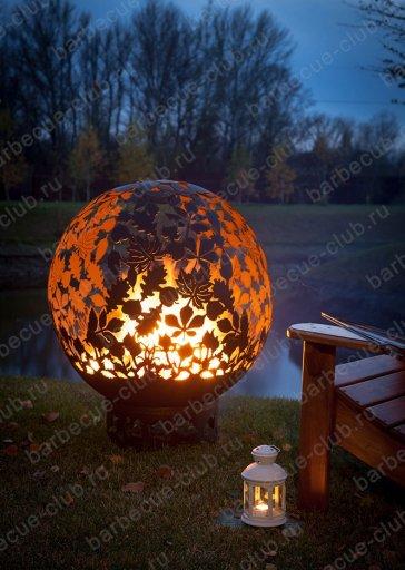 """Сфера для огня """"Листья"""""""